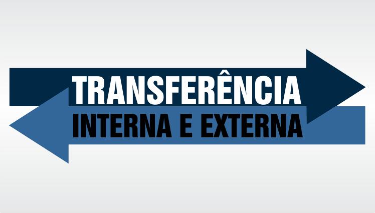 Transferência Interna e Externa - Cursos técnicos concomitantes ou subsequentes