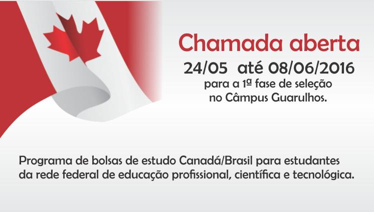 Programa de bolsas de estudo Canadá/Brasil
