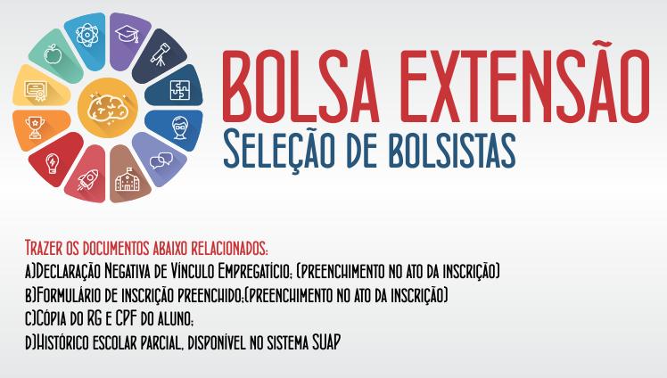 Bolsa Extensão - Seleção de bolsistas