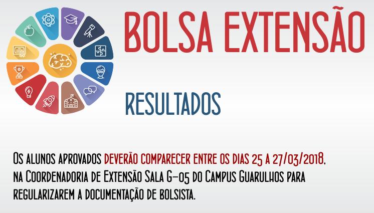 Resultado - Bolsa Extensão - Seleção de bolsistas