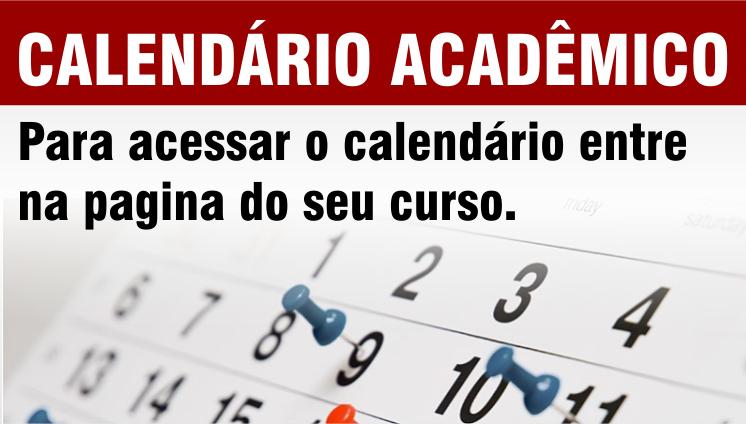 Calendário Acadêmico - 2019
