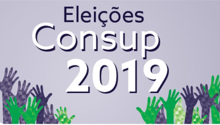 Eleições CONSUP 2019 - inscrições homologadas.