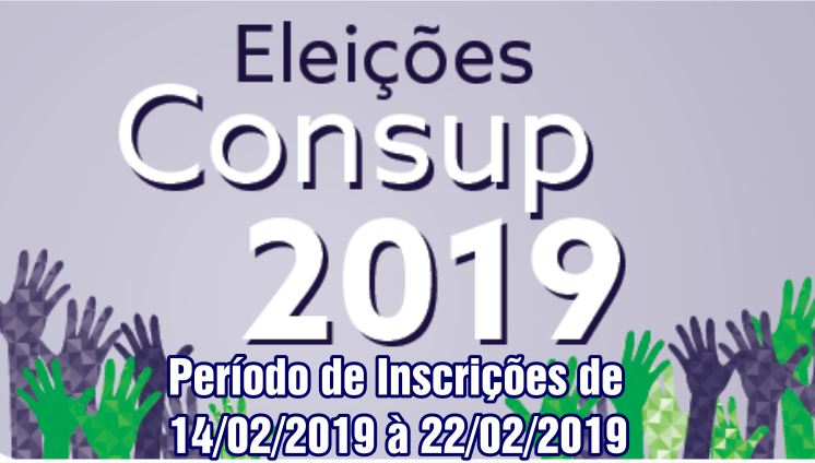 Eleições CONSUP - 2019