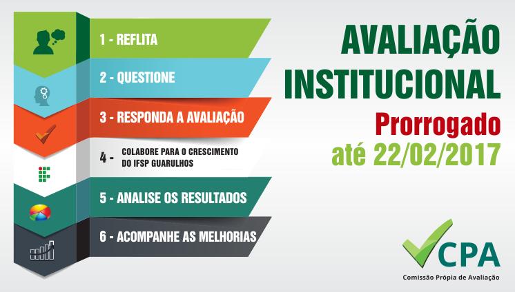 CPA - Avaliação Institucional 2016