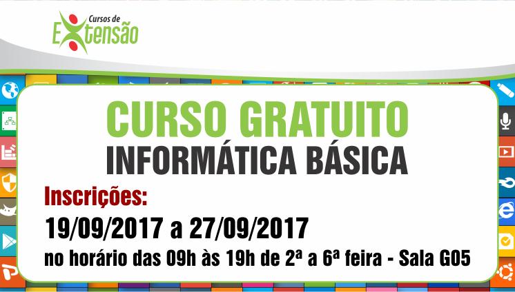 Curso Gratuito - Informática Básica