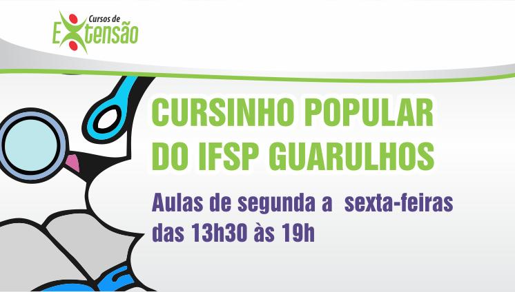 Cursinho Popular - Inscrições Prorrogada até dia 18/04/2019