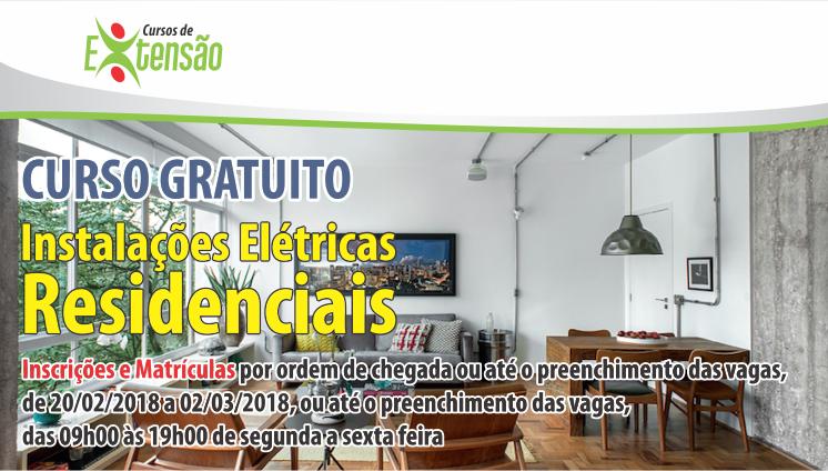 Curso Gratuito - Instalações Elétricas Residenciais