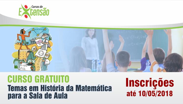 Curso Gratuito - Temas em História da Matemática para a Sala de Aula