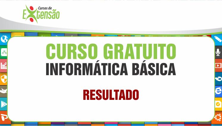 Resultado - Curso Gratuito - Informática Básica