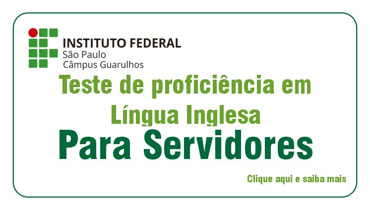 Teste de Proficiência em Língua Inglesa para Servidores