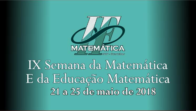IX Semana da matemática